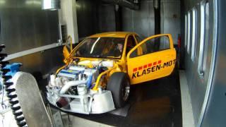Klasen-Motors Drag-Astra-H first Dynoruns