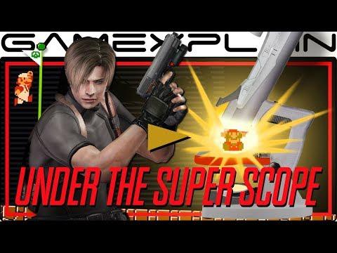 The Brilliance of Resident Evil 4 & Super Mario Bros. Style Design - Under the Super Scope