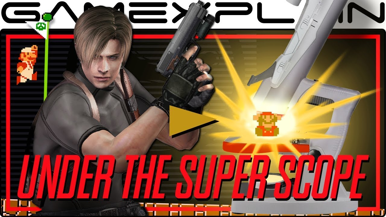 The Brilliance Of Resident Evil 4 Super Mario Bros Style Design Under The Super Scope