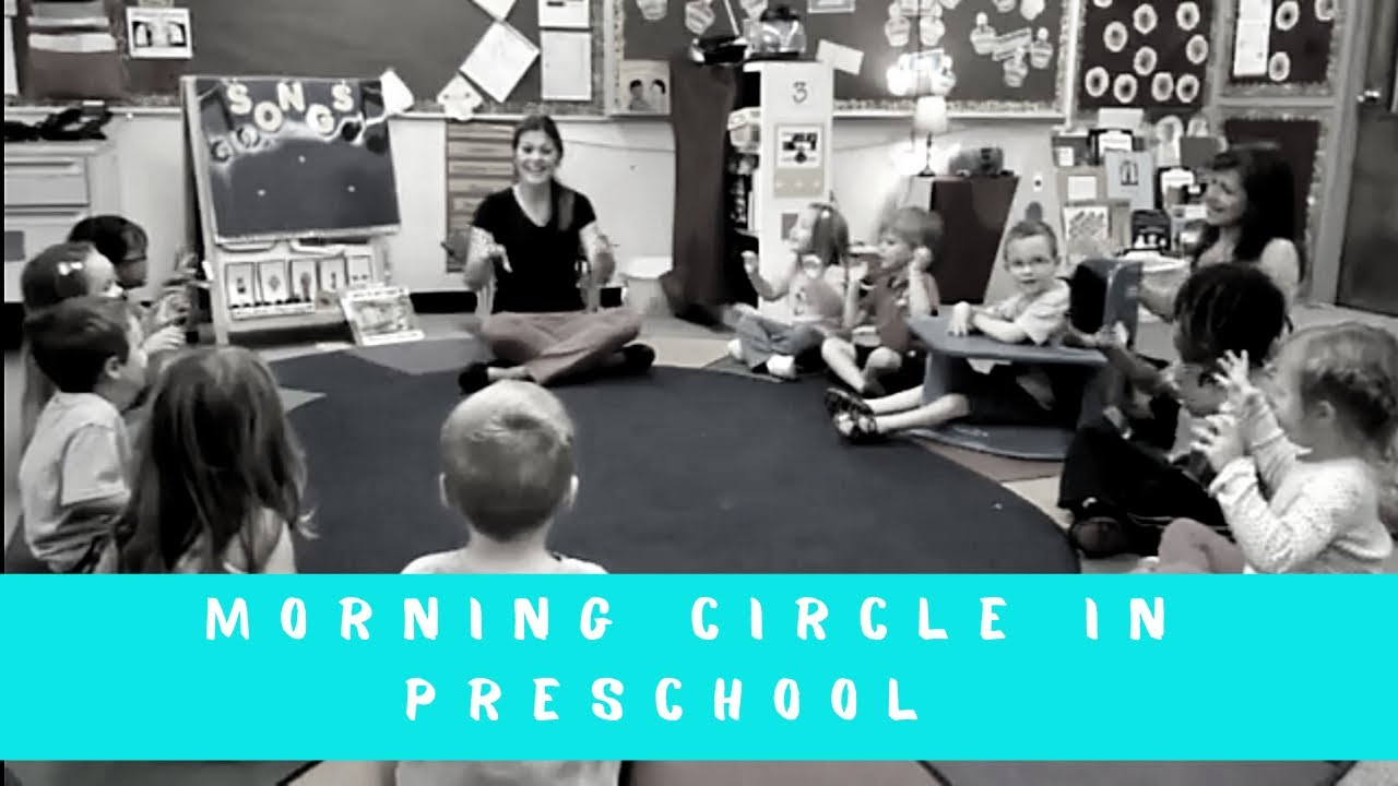 morning circle at preschool youtube. Black Bedroom Furniture Sets. Home Design Ideas