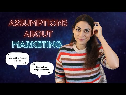 ASSUMPTIONS ABOUT MARKETING - Answering your assumptions: What is marketing and what is it not?