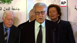 Brahimi says Syrian government and some rebels agree to ceasefire during Eid
