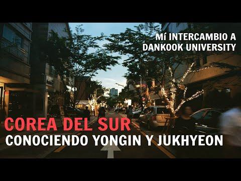 Conociendo los alrededores de Dankook (Universidad en Corea)