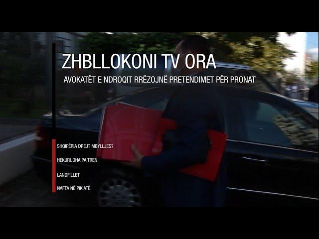 Edicioni informativ - 29 tetor 2020 - Ora 20:00 - RTV Ora