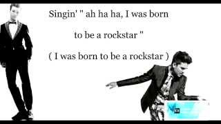 Rockstar (glee) | Lyrics