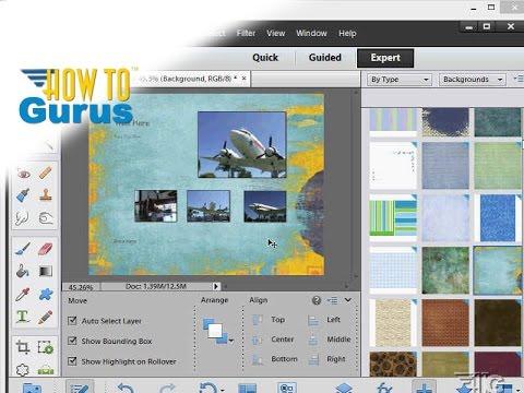 ... Adobe Photoshop Elements 11 12 13 14 - PSE Effects Tutorial - YouTube
