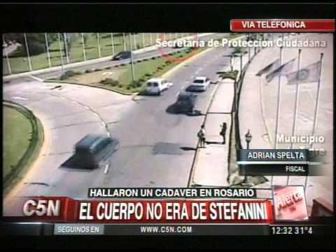 C5N - POLICIALES: HALLARON UN CADAVER EN ROSARIO, HABLA EL FISCAL DEL CASO STEFANINI