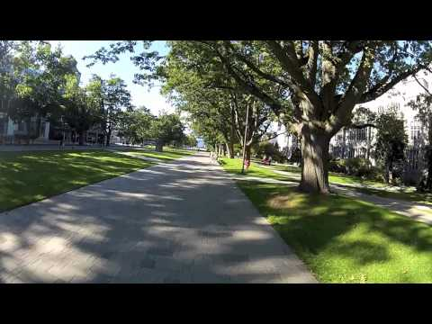 Quick Bike Tour of UBC Campus in Fall 2012