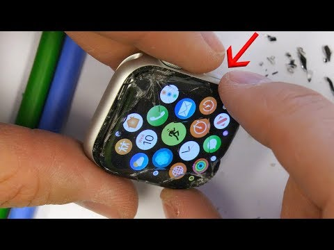 Glass Only Apple Watch 4 Screen Fix - NEARLY IMPOSSIBLE