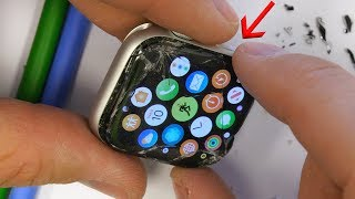 Download Glass Only Apple Watch 4 Screen Fix - NEARLY IMPOSSIBLE! Mp3 and Videos