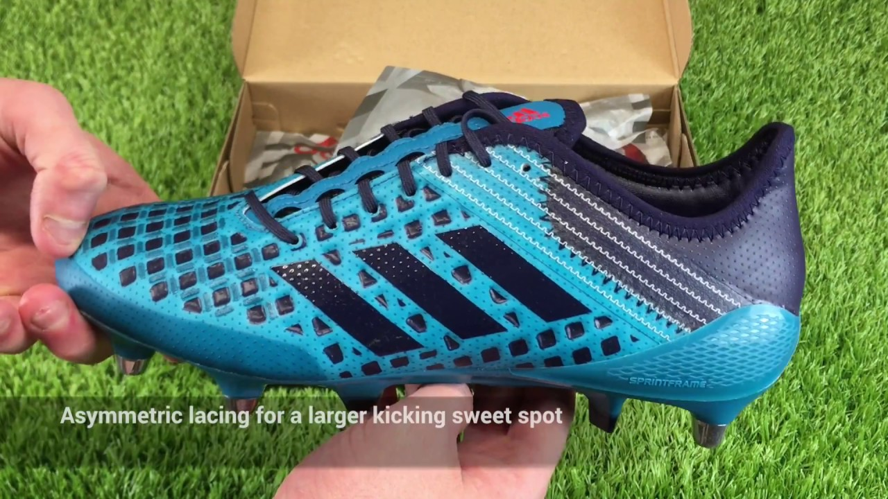 Unboxing the Adidas Predator Malice Rugby Boots in Mystery Petrol ... a5f159e7b043