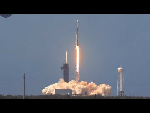 4K! NASA SpaceX Demo-2 Launch On-Site
