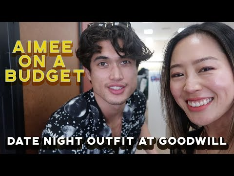 Aimee on a Budget  Thrifting with Charles Melton from Riverdale  Aimee Song