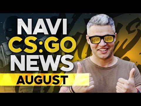 NAVI CSGO news: August