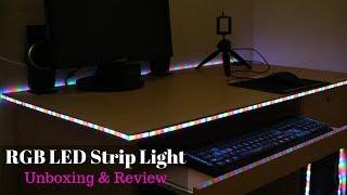 RGB LED Flexible Strip Light Unboxing & Review 2018 | Bangla | Mr TecH 💥