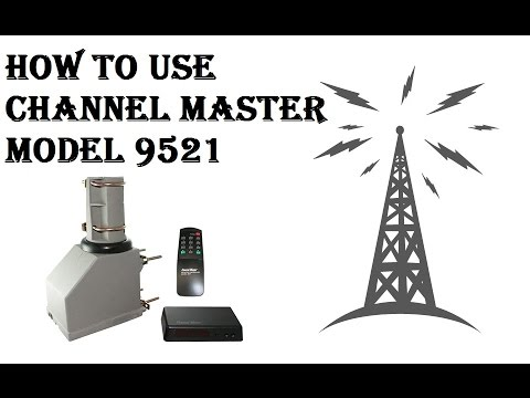 How To Use Channel Master - TV Antenna Rotator - Model 9521