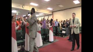 Prophet Diallo & healing of the eardrum & revelation of a woman in coma on admission @Texas REVIVAL