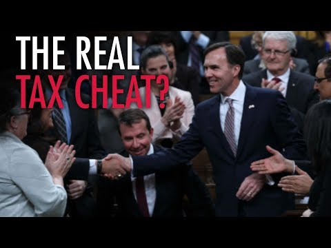 "Morneau shelters income in numbered companies while bullying ""tax cheats"""