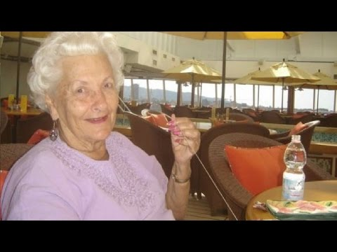 He asked an old woman why she's alone on a cruise ship. Her response is priceless!