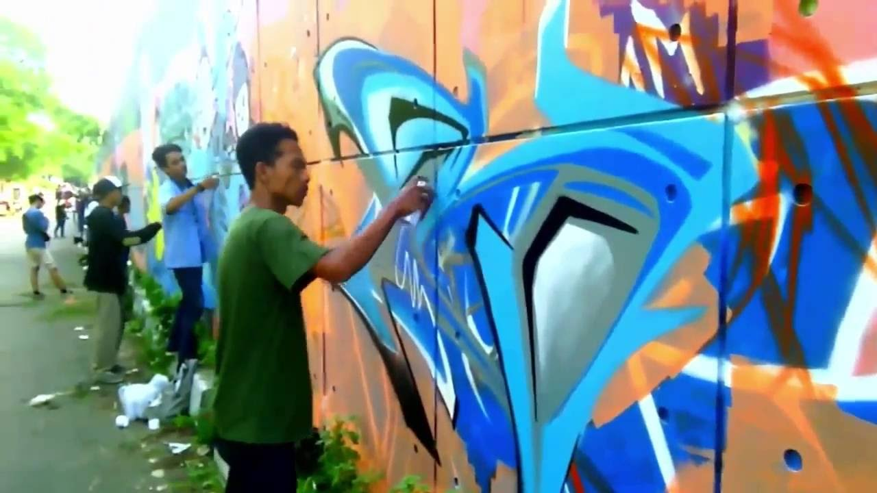 Gambar bareng graffiti indonesia bekasi youtube