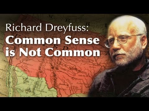 Richard Dreyfuss: Common Sense Is Not Common -- Osher UCSD