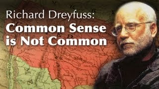 Richard Dreyfuss: Common Sense Is Not Common -- Osher UCSD