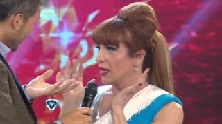 Showmatch 2014 - Video prohibido y danza de precisión de Lizy Tagliani