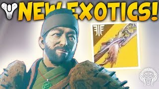 Destiny 2: NEW EXOTICS & HUGE RAID SECRET! Fallen Vendor, Random Rolls, Prison Pirates & Reef Patrol