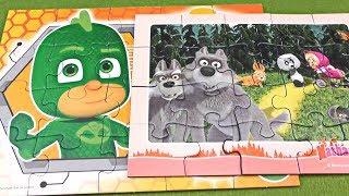 Masha & PJ Masks ! Puzzle for Kids ! Kids Video