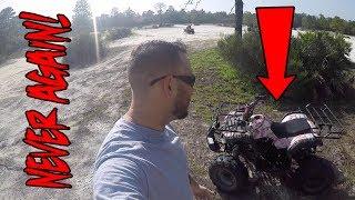 DON'T BUY CHEAP ATV'S!