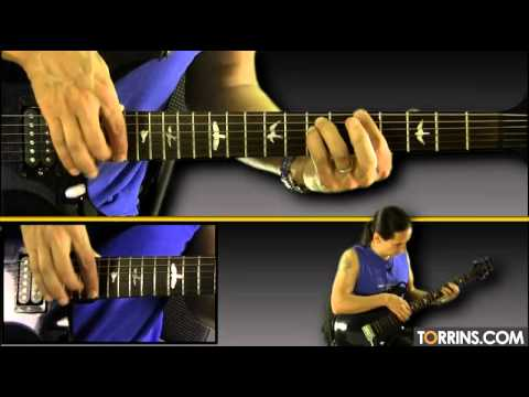 Raabta (Agent Vinod) Guitar Lesson (Introduction Tapping and Improvisation)