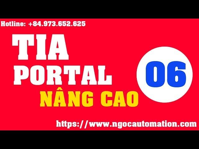 TIA portal nâng cao 06 - Code VB script trong tia portal