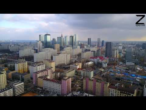 Warsaw Downtown in 4K Winter 2018 LoveToBeMobile #5