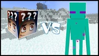 Фрост Лаки Блок VS Отмороженный Эндермэн! - Лаки Битва #13
