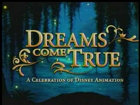 Delicieux Dreams Come True: A Celebration Of Disney Animation   Part 1 Of 6