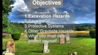 osha training gravesite safety demo