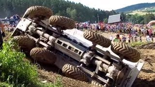 HOT crashes! The Best of Truck trial Extreme Mohelnice