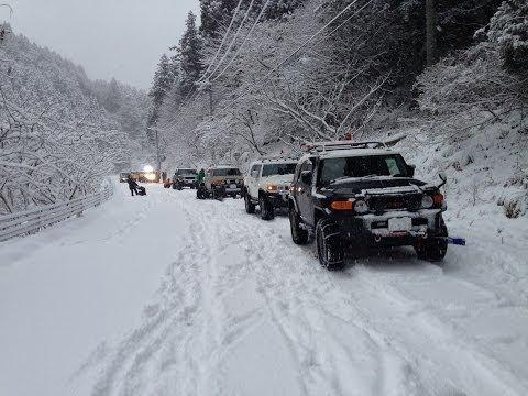 snow attack 2014/1/19 FJ Cruiser Off-Road