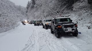 snow attack 2014/1/19 FJ Cruiser Off-Road