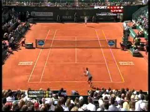 Novak Djokovic vs Rafael Nadal  ATP Masters Monte Carlo 2013