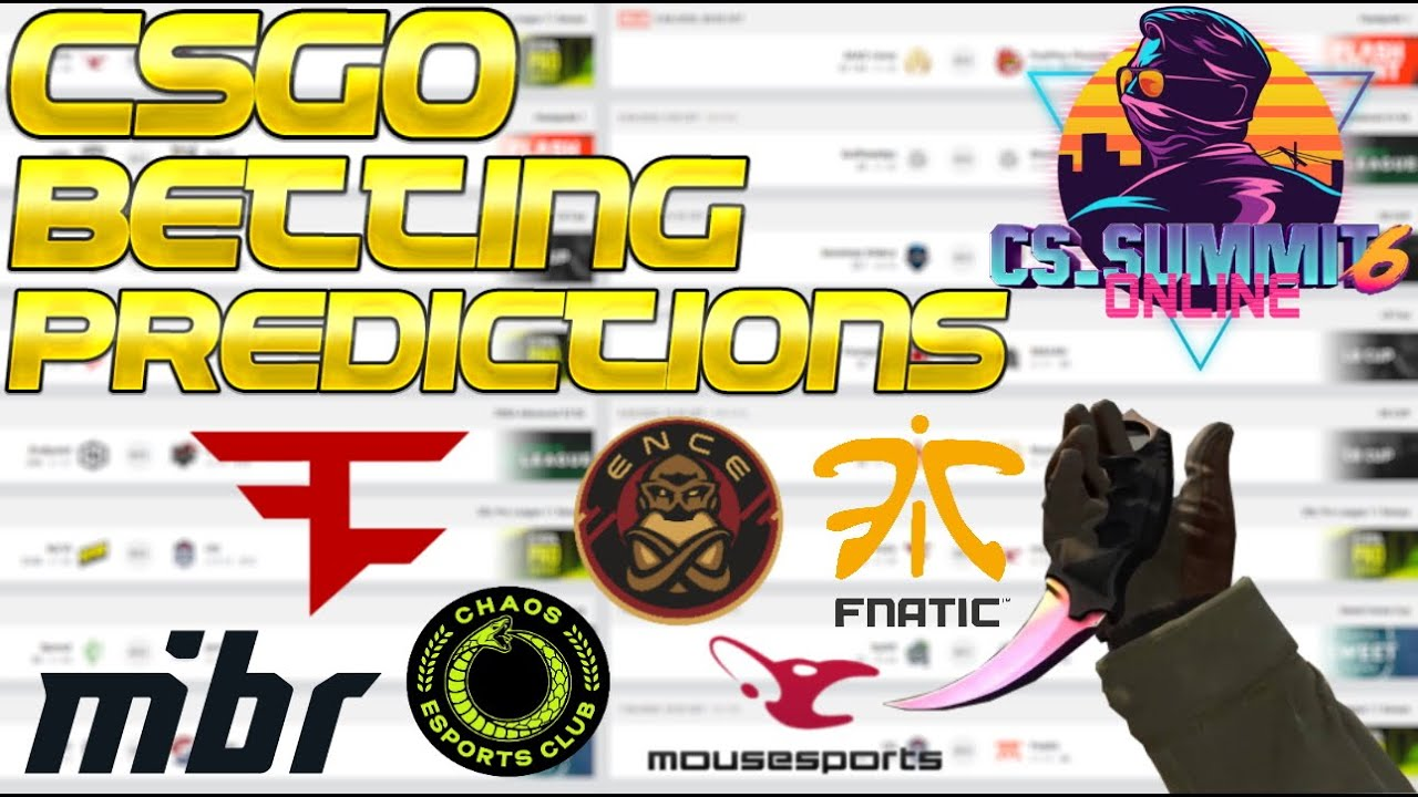 CS:GO Betting Predictions CS_Summit - G2, Vitality, NiP, Heroic, BIG, OG, Liquid, Cloud9, EG, & MORE