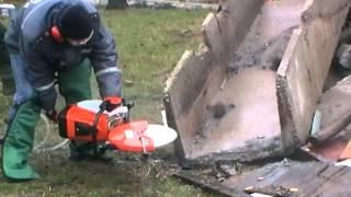 видео Бензорез STIHL TS 800