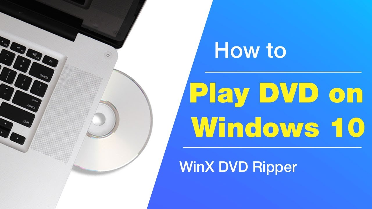 How To Play Dvd On Windows 10 For Free 2 Ways Youtube