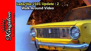 homepage tile video photo for Lada 1200 (Vaz BA3) 2101 Russian Car Update #2: Walk Around