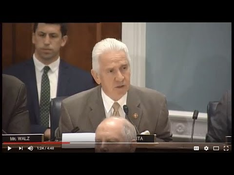 Rep. Costa to House Agriculture Committee: Let's get back to work and pass a bipartisan Farm Bill