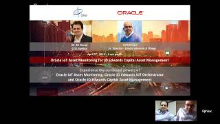 Webinar: Oracle IoT Asset Monitoring for JD Edwards Capital Asset Management (CAM)