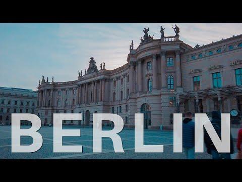 Berlin Cycling Mitte Gendarmenmarkt 🇩🇪 Germany [4K] 2020 Humboldt University, Berliner Dom