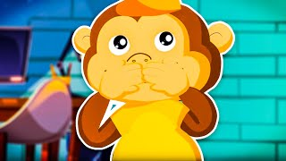 Dziecięce Przeboje - Małpy (oficjalny teledysk)