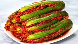 Kim Chi Dưa Leo đơn giản ngon tuyệt đỉnh | Simple cucumber kimchi recipe