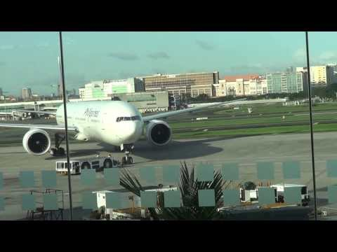 AMAZING  - PHILIPPINE MANILA INTERNATIONAL AIRPORT BEST VIEW - INSIDE AND OUTSIDE
